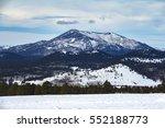 Kendrick Peak Flagstaff as seen from AZ Snowbowl