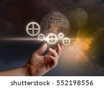 engineering technology. | Shutterstock . vector #552198556