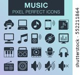 set of pixel perfect music...
