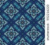 seamless pattern. weave... | Shutterstock .eps vector #552216220