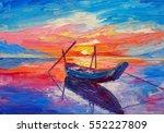 oil painting  artwork on canvas.... | Shutterstock . vector #552227809