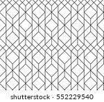 seamless geometric pattern.... | Shutterstock .eps vector #552229540