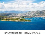 cote d'azur france. beautiful... | Shutterstock . vector #552249718