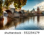 Charles Bridge In Prague Durin...