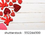 set of colorful decorative... | Shutterstock . vector #552266500