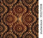 modern geometric seamless... | Shutterstock .eps vector #552272038
