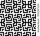 vector seamless pattern.... | Shutterstock .eps vector #552287134