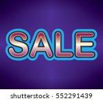 sale background | Shutterstock .eps vector #552291439