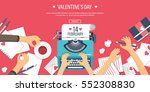 vector illustration. flat... | Shutterstock .eps vector #552308830