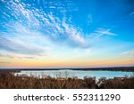 Colorful Sky And Lake Macatawa...