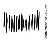 black hand drawn grunge brush...   Shutterstock .eps vector #552319399