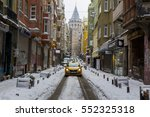 turkey istanbul  09 january... | Shutterstock . vector #552325318