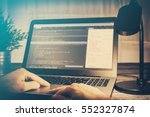 coding code program programming ... | Shutterstock . vector #552327874