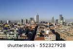 aerial view of the center of... | Shutterstock . vector #552327928