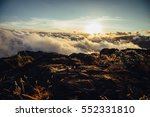 mountain landscape  kilimanjaro ... | Shutterstock . vector #552331810
