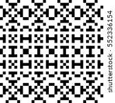 vector seamless pattern.... | Shutterstock .eps vector #552336154