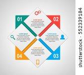 vector infographics template... | Shutterstock .eps vector #552339184