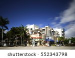 miami   january 9  image of the ... | Shutterstock . vector #552343798