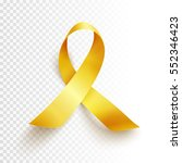 realistic gold ribbon ... | Shutterstock .eps vector #552346423