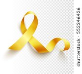 realistic gold ribbon ... | Shutterstock .eps vector #552346426