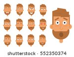 businessman generation of... | Shutterstock .eps vector #552350374