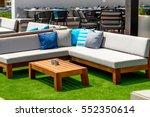 summer outdoor furniture | Shutterstock . vector #552350614