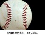 horizontal baseball macro with...   Shutterstock . vector #552351