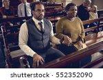 church people believe faith...   Shutterstock . vector #552352090