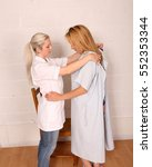 a pair of blond same sex lovers. | Shutterstock . vector #552353344