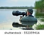 wildlife photographer outdoor ... | Shutterstock . vector #552359416