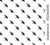 angel birds wing pattern.... | Shutterstock .eps vector #552363040