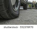 Car Tires Leak Because The Nai...