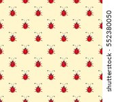 seamless vector pattern with... | Shutterstock .eps vector #552380050