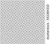 vector monochrome seamless... | Shutterstock .eps vector #552384310