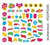 web stickers  banners and... | Shutterstock . vector #552395200