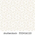 seamless linear pattern with... | Shutterstock .eps vector #552416110