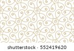 seamless linear pattern with... | Shutterstock .eps vector #552419620