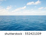 blue sea and blue sky...   Shutterstock . vector #552421339