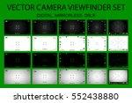 modern camera focusing screen... | Shutterstock .eps vector #552438880