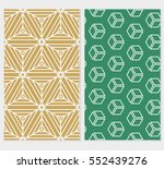 Set Of Geometric Background....