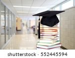 back to school concept with... | Shutterstock . vector #552445594