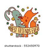 vector emblem with banner ... | Shutterstock .eps vector #552450970