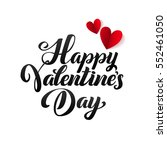happy valentines day card.... | Shutterstock .eps vector #552461050