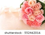 Bouquet Of Beautiful Pink Rose...