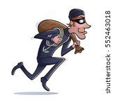 Thief Running With Loot