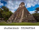 tikal national park near flores ... | Shutterstock . vector #552469564