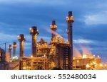 gas turbine electrical power... | Shutterstock . vector #552480034