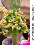 Bouquet Of Artificial Flowers