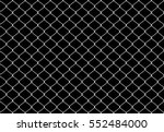 metallic wired fence seamless... | Shutterstock .eps vector #552484000