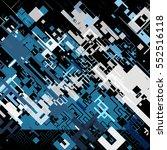 vector illustration of a... | Shutterstock .eps vector #552516118